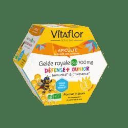 ViVitaflor Apiculte Gelée Royale Bio Défense + Junior 700mg 14 ampoules
