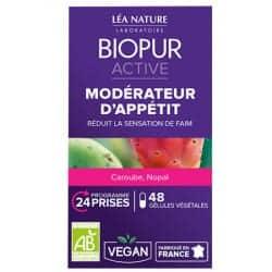 Biopur Active Modérateur d'Appétit 48 Gélules Végétales