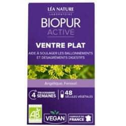 Biopur Active Ventre Plat 48 Gélules
