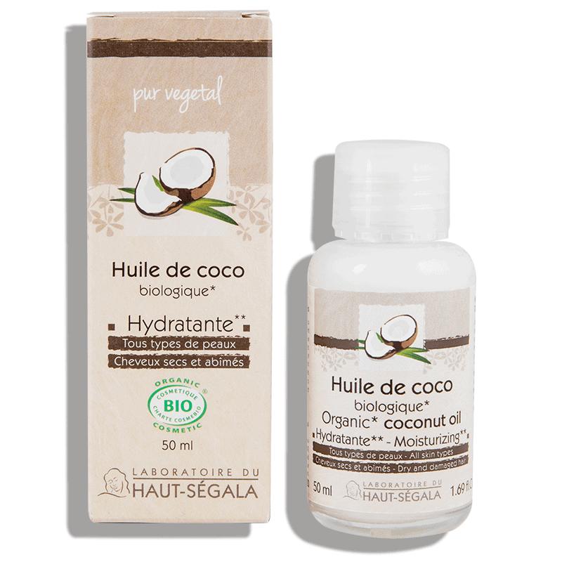 Haut-ségala Huile Végétale Bio Coco 50ml