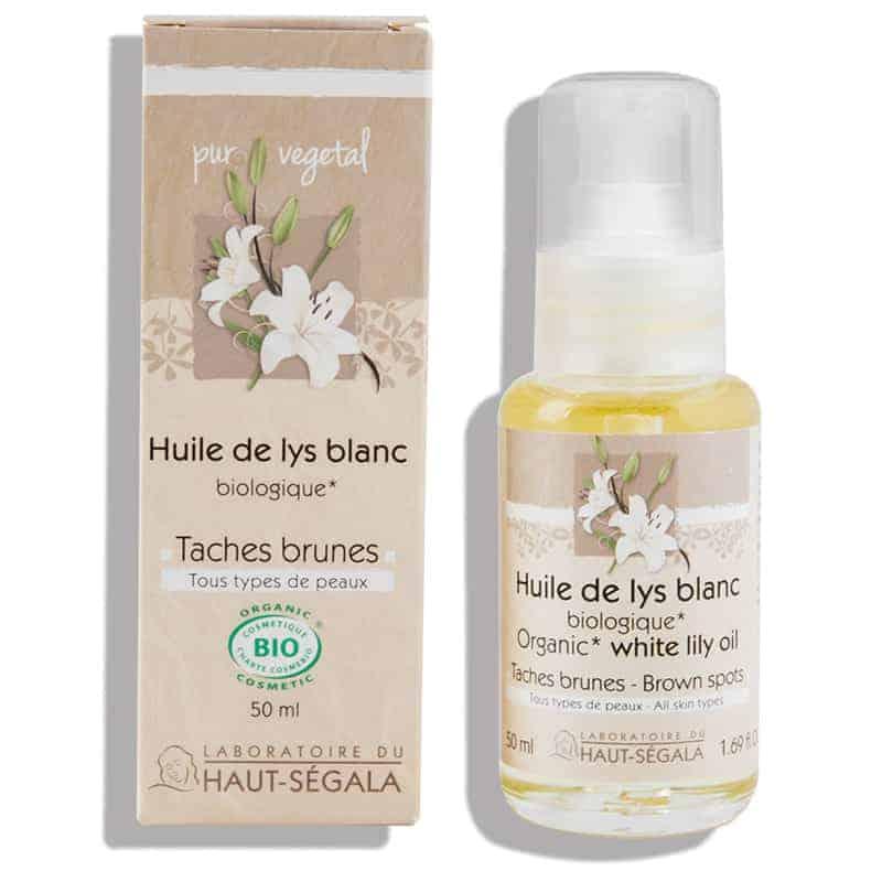 Haut-ségala Huile Végétale Bio Lys Blanc 50ml