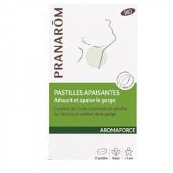 Pranarom Aromaforce Pastilles Apaisantes Gorge 21 pastilles