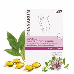 Pranarom Aromafemina Capsules Confort Voies Urinaires 30 capsules