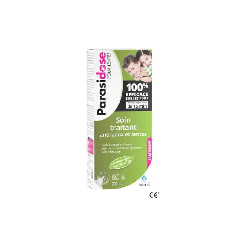 Parasidose Soin Traitant Anti-poux et Lentes 200ml