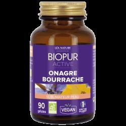 Biopur Active Onagre Bourrache Sublimateur de Peau 90 Gélules