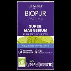 Biopur Active Super Magnésium 48 Gélules