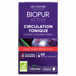 Biopur Active Circulation Tonique 48 gélules