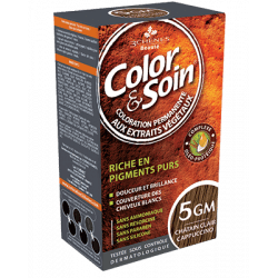 Color&soin Coloration châtain Clair Cappucino 5GM
