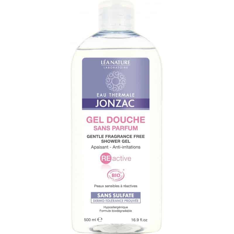 Jonzac Réactive Gel Douche Sans Parfum 500ml