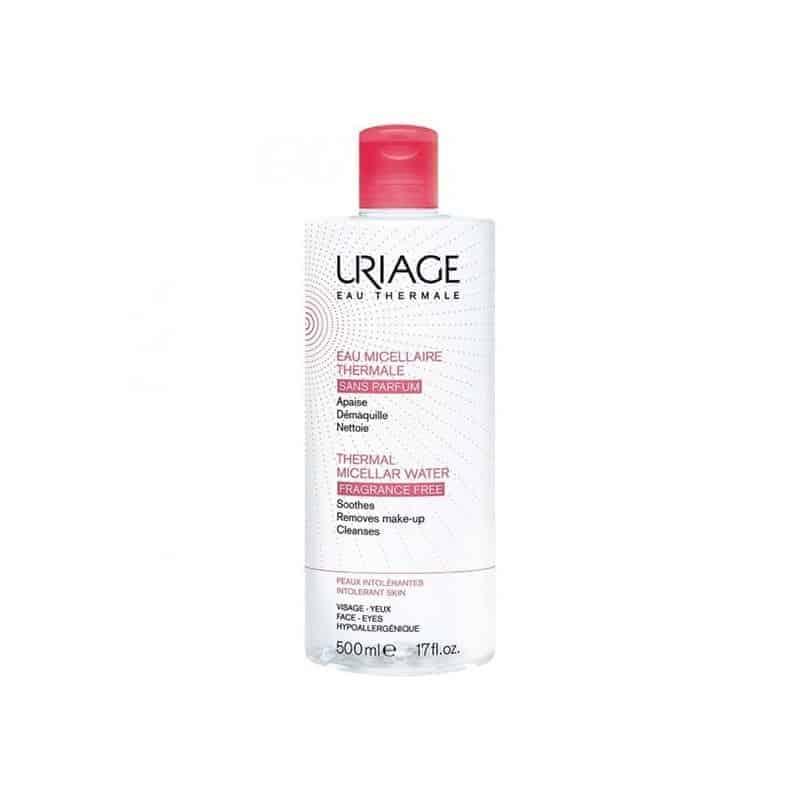 Uriage Eau Micellaire Thermale Sans Parfum Peaux Intolérantes 500ml