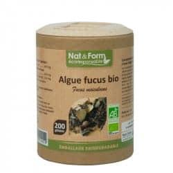 Nat&Form Ecoresponsable Algue Fucus Bio 200 Gélules