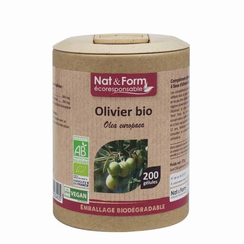 Nat&Form Ecoresponsable Olivier Bio 200 Gélules