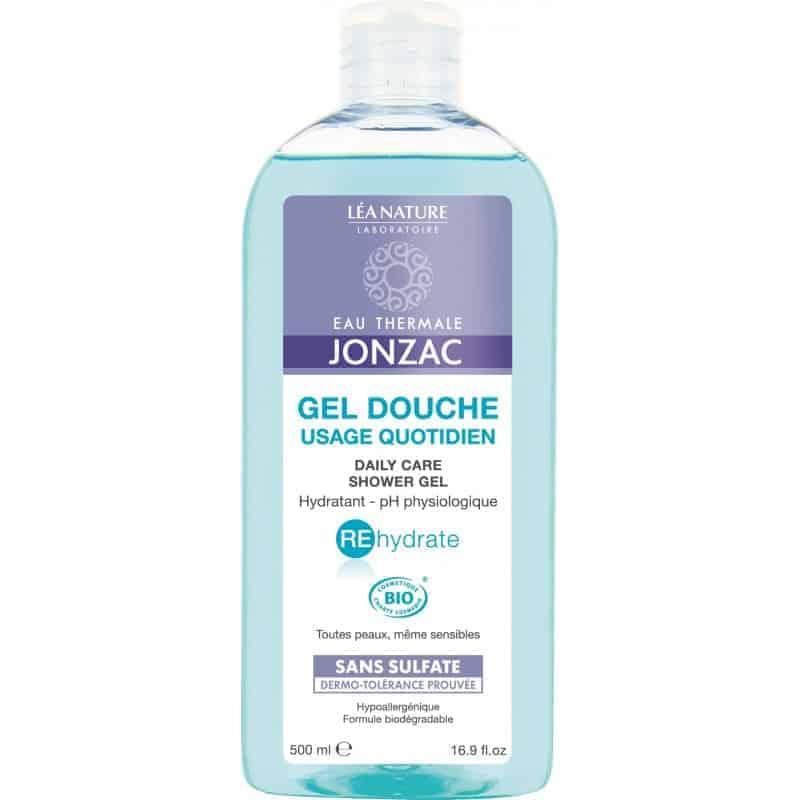 Jonzac Rehydrate Gel Douche usage Quotidien 500ml