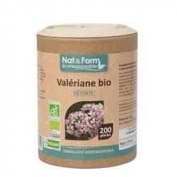 Nat&Form Ecoresponsable Valériane Bio 200 Gélules