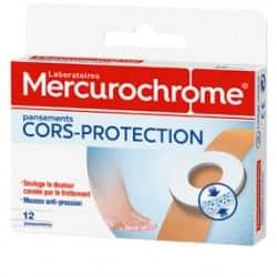 Mercurochrome Pansements Protection Cors Boîtes de 12