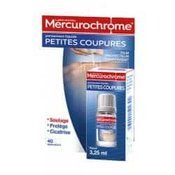 Mercurochrome Pansement Liquide Petites Coupure 3.5ml