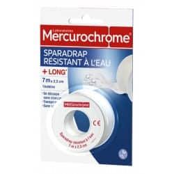 Mercurochrome Sparadrap Résistant à L'eau 7m