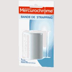 Mercurochrome Bande de Strapping 6cmx2,5m
