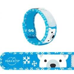 Parakito Bracelet Anti-Moustique Kids 3 à 7 ans Ours Polaire