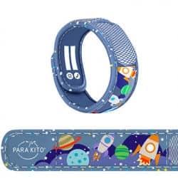 Parakito Bracelet Anti-Moustique Kids 3 à 7 ans Espace