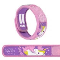 Parakito Bracelet Anti-Moustique Kids 3 à 7 ans Licorne