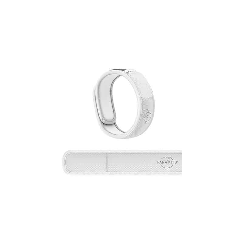 Parakito Bracelet Anti-Moustique Adulte Blanc
