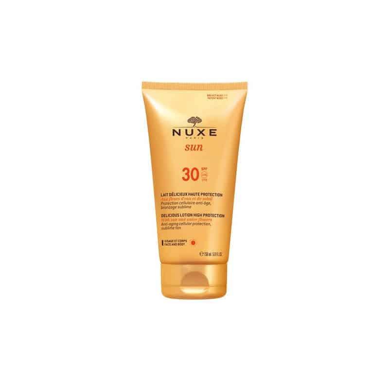 Nuxe Sun Lait Délicieux Visage & Corps SPF30 150ml
