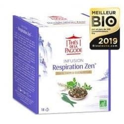 Thés de la Pagode Respiration Zen 18 infusettes