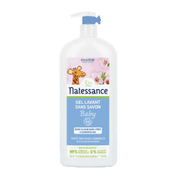 Natessance Bébé Gel lavant 500 ml