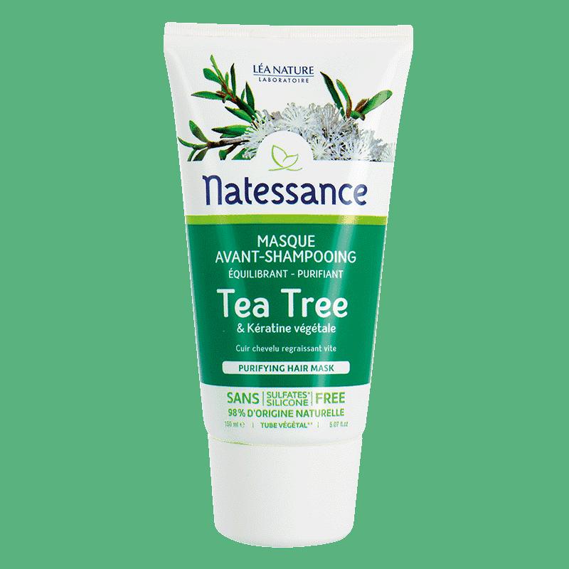 Natessance Tea Tree  Masque Avant-Shampooing 150ml