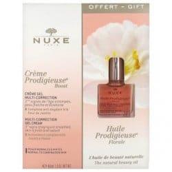 Nuxe Crème Prodigieuse Boost Crème Gel 40ml + huile prodigieuse florale 10ml