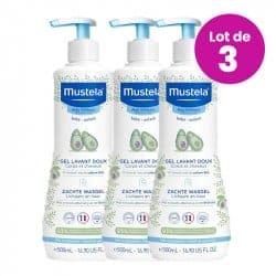 Mustela Gel Lavant Doux trio 3x500ml