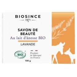 Gravier Biosince Savon Lait d'ânesse Lavande 100g