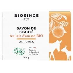 Gravier Biosince Savon Lait d'ânesse Agrume100g