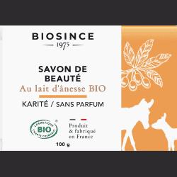 Gravier Biosince Savon Lait d'ânesse Sans Parfum100g