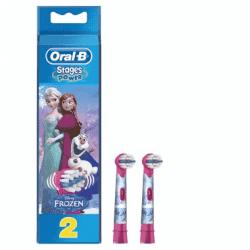 Oral B Brossettes Kids Reines des Neiges 2 brossettes