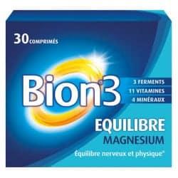 Bion3 Equilibre Magnesium 30 comprimés
