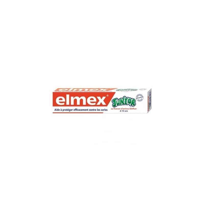 Elmex Junior 6-12 ans Dentifrice 75ml