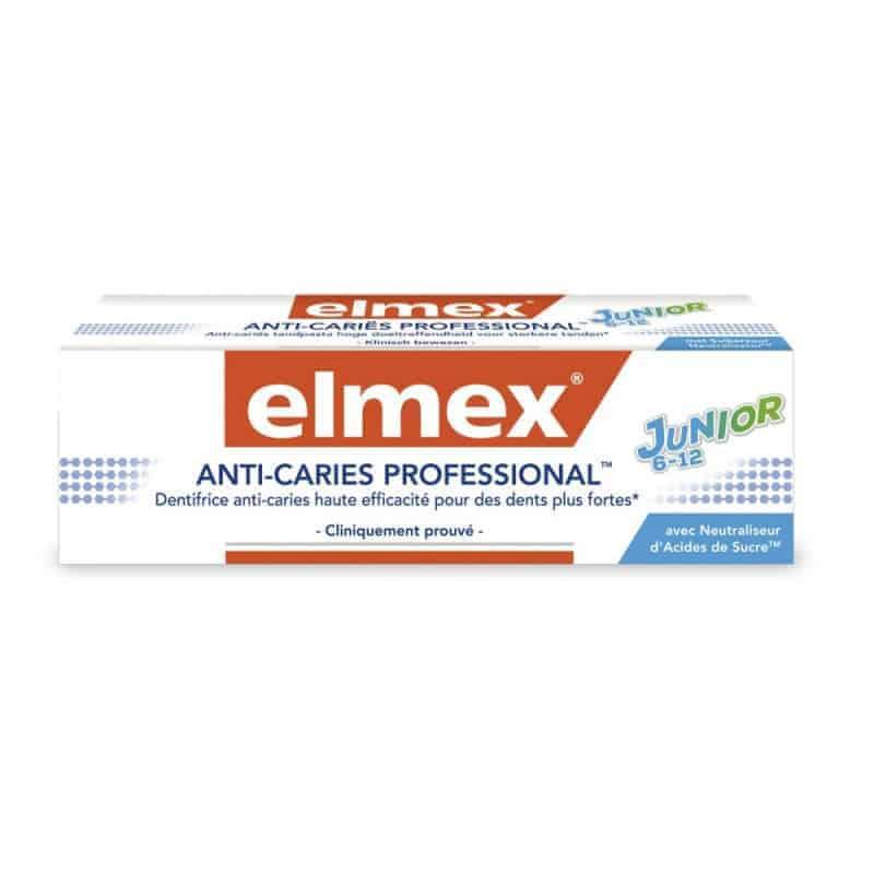 Elmex Anti-Caries Professional Junior 6-12 ans 75ml