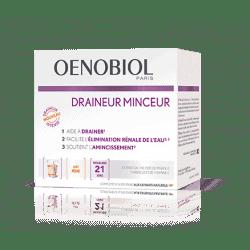 Oenobiol Draineur Minceur Pêche 21 sticks