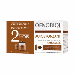 Oenobiol Autobronzant Duo 2x30 capsules