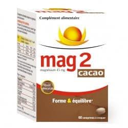 Mag2 Cacaco Comprimés à Croquer 60 comprimés