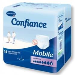 Confiance Mobile Sous-Vêtements Absorbants 8G Taille S 14 Protections