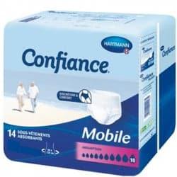 Confiance Mobile Sous-Vêtements Absorbants 10G Taille M 14 Protections