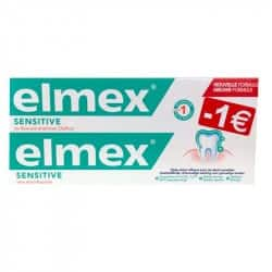 Elmex Sensitive Pâte Dentifrice  Duo 2x75ml