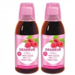 Milical Draineur Framboise Duo 2x500ml