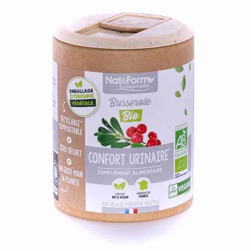 Nat&Form Ecoresponsable Busserole Bio 200 Gélules