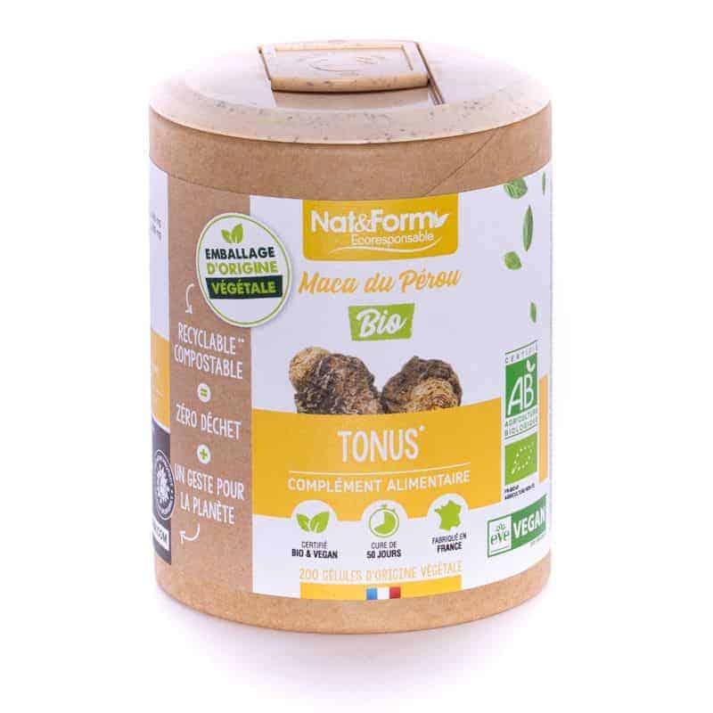 Nat&Form Ecoresponsable Maca Bio 200 Gélules