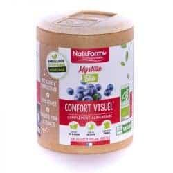 Nat&Form Ecoresponsable Myrtille Bio 200 Gélules