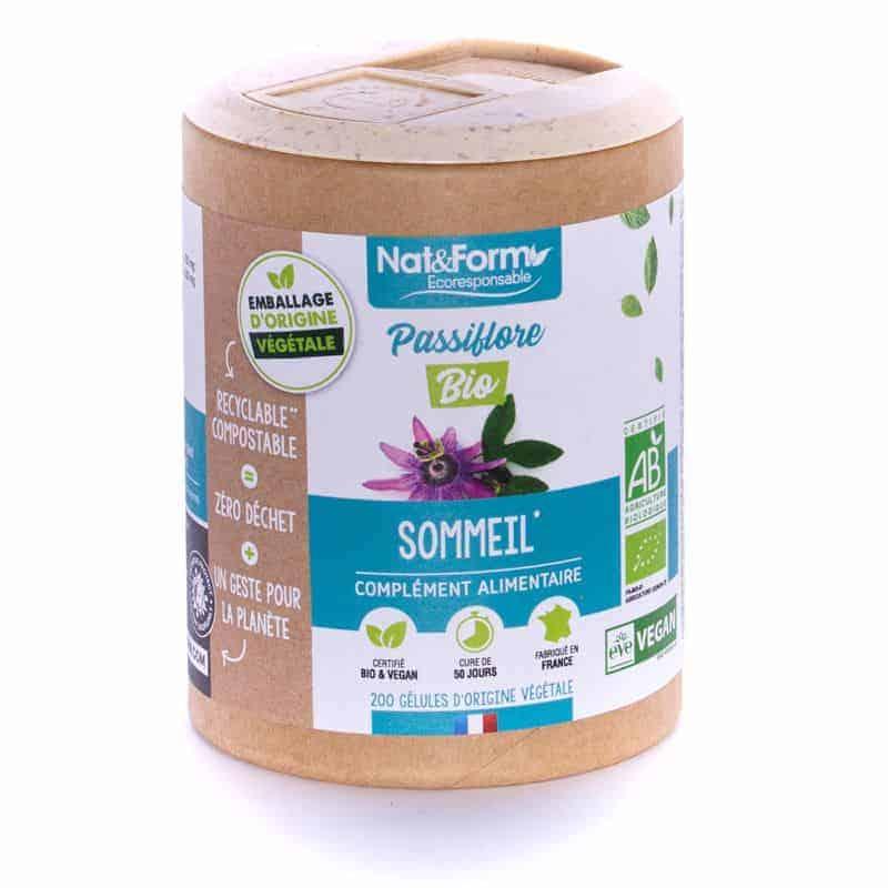 Nat&Form Ecoresponsable Passiflore Bio 200 Gélules